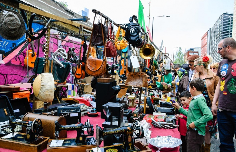 Image result for Brick Lane Market