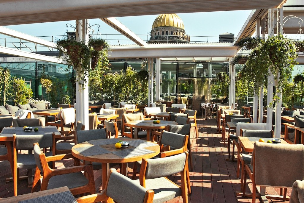 мансарда санкт-петербург ресторан фото
